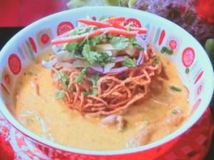 タイ風カレーラーメン