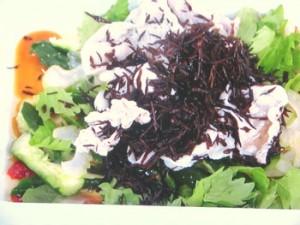 豚しゃぶと野菜のめんつゆ梅マリネ