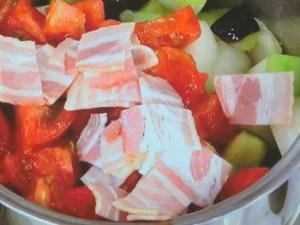 クスクスのとうがんトマトソース