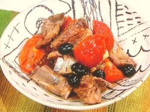 スペアリブのトマト煮