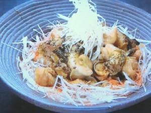 もこみち流 つぶ貝のしょうが煮