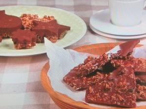 チョコレートクランチ2種
