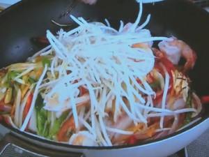 もこみち流 細切り野菜の炒め物