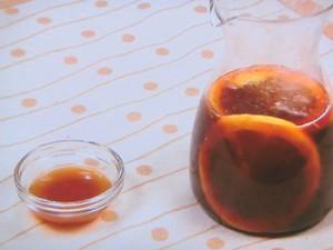 蒸し野菜のオレンジポン酢