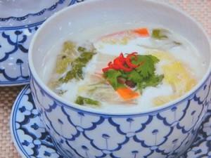 ココナツミルクのスープ