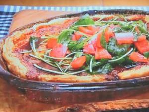 もこみち流 トマトとモッツァレラのキッシュ