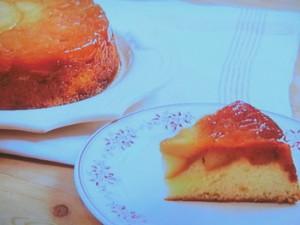 紅玉のタルトタタン風・大学芋・チーズケーキ