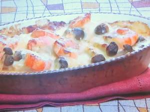 海老と豆腐の味噌グラタン
