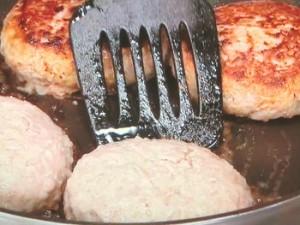 ハンバーグのおろし煮
