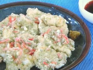 鶏いそべ天ぷら