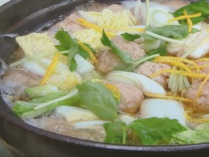 鶏つくね鍋