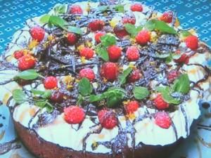 もこみち流 オリジナルチョコレートケーキ~キャラメルがけ~