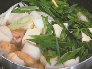 麩と豆腐と鶏肉のあんかけ