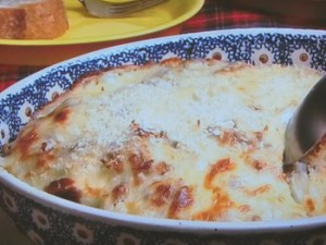 牛肉とじゃが芋のクリームグラタン