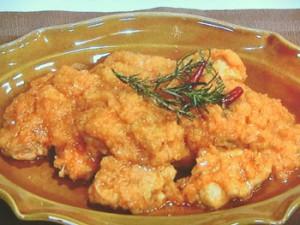 鶏もも肉のイタリアンみぞれ煮
