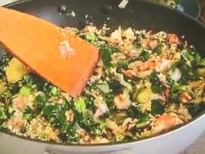 もこみち流 野菜のクスクス詰め オーブン焼き