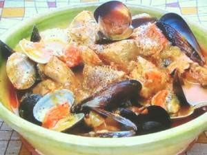 もこみち流 豚肉と貝類のポルトガル煮込み