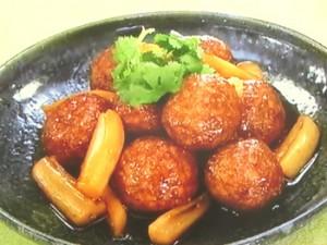 黒酢肉団子