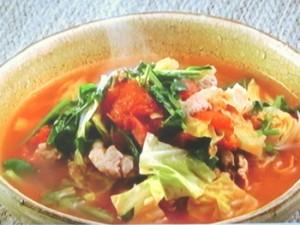 クレソンXトマトスープ