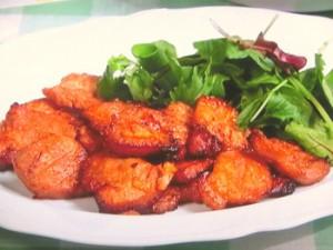 豚肉のママレード焼き