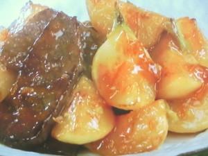 かぶと牛肉のソテー