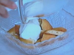 マスカルポーネといちごのデザート
