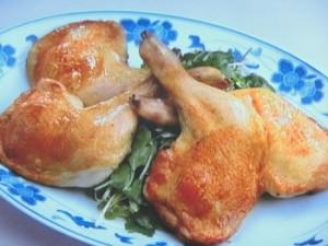 鶏のスパイシー焼き
