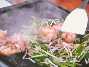 鶏(けい)ちゃん焼き&絶品焼きそば