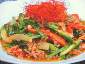 季節の野菜たっぷりHATAKE風プルコギ