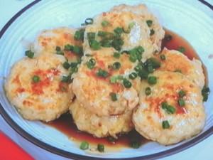 節約ヘルシー鶏むね肉と豆腐のつくね