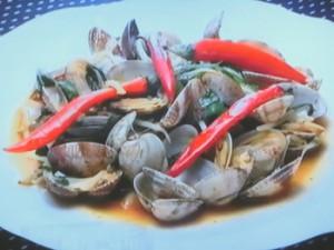 もこみち流 中華風アサリの炒め物
