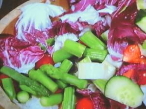 夏野菜のさしすずし