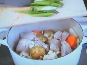 もこみち流 豚肉と野菜のレモンスープ