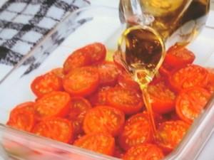 セミドライトマトのパスタ
