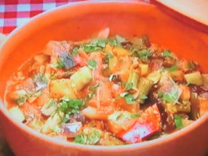 もこみち流 スペイン風夏野菜煮込み