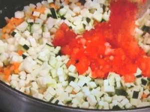 いわしのソテー 香味野菜ソース