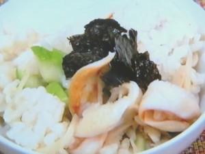 イシカゲ貝ごはん