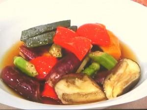夏野菜のだしびたし