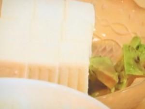 豆腐アボカドご飯