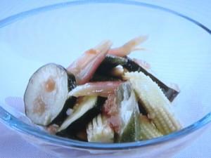 梅風味の野菜マリネ