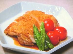 鶏もも肉とししとうの焼き南蛮
