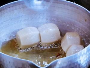 里芋の煮っころがし&田楽風 里芋の煮っころがし