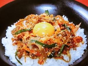 キンピーラー丼