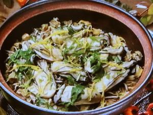 カキの土鍋ご飯