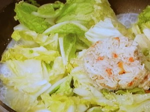 白菜とかにのクリーム煮
