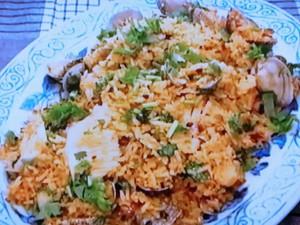 もこみち流 海鮮辛炒飯(シーフードチャーハン)