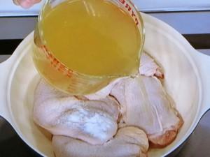 鶏とかぶのポトフ