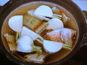 鯛かぶら鍋