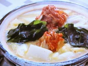 京風キムチ鍋
