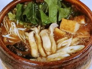 冬野菜の肉みそ鍋